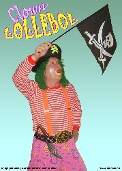 Afbeelding › Clown Lollebol