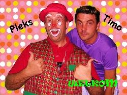 Afbeelding › Clown Pleks & Timo -BVBA Ambipleks